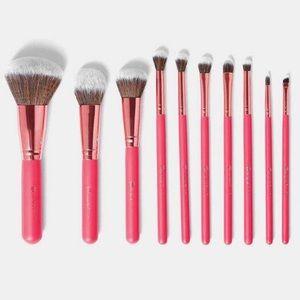 BH Cosmetics 10 Piece Bombshell Beauty Brush Set